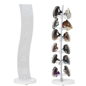 White Counter Top Sunglasses Display 7047White