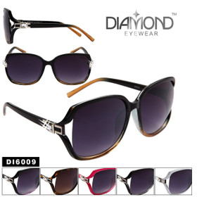 60b488914fd Diamond™ Rhinestone Sunglasses Wholesale - Style   DI6009 (Assorted Colors)  (12 pcs.)