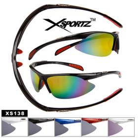 Wholesale Xsportz™ Sport Sunglasses - Style # XS138