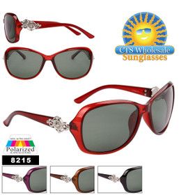 Women's Polarized Sunglasses - Style #8215