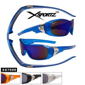 Xsportz™ Men's Sports Sunglasses Wholesale - Style # XS7000