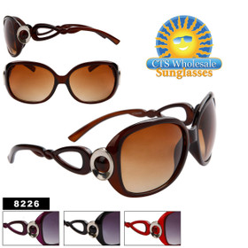 Women's Designer Sunglasses in Bulk - 8226