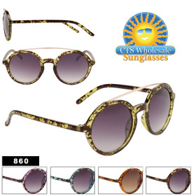 Wholesale John Lennon Inspired Sunglasses - Style #860