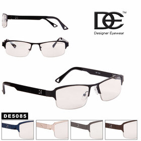 Designer™ Eyewear Bulk Clear Lens Glasses  - Style #DE5085