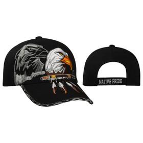 Native Pride Baseball Hat C5184 Black