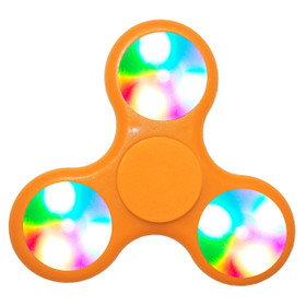 Orange LED Fidget Spinners!
