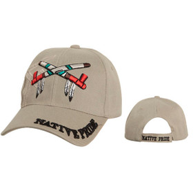 Native Pride Wholesale Cap ~ Khaki
