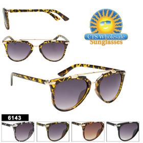 Retro Mirrored Sunglasses - Style #6143