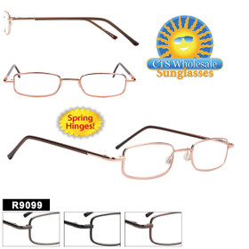 Reading Glasses Wholesale - R9099 Spring Hinges!