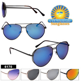Mirrored Aviators in Bulk - Style #6170