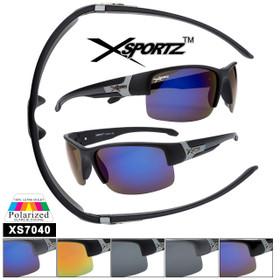 Bulk Polarized Xsportz™ Sports Sunglasses XS7040