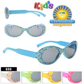 Wholesale Kid's Sunglasses - Style #659