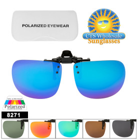 Polarized Clip Ons Flip-up Style 8271
