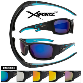 Xsportz™ Sports Sunglasses by the Dozen - Style XS8005
