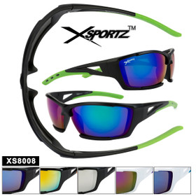 Xsportz™ Sports Sunglasses in Bulk - Style XS8008