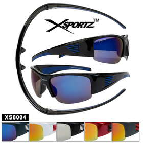 Sports Sunglasses by the Dozen - Style XS8004