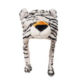 Wholesale Animal Hats | White Tiger