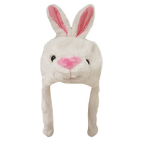 Wholesale Animal Hats | White Bunny