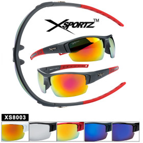 XSportz ™ Bulk Sports Sunglasses XS8003 mixed color