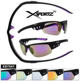 Sports Sunglasses by the Dozen - Style XS7041
