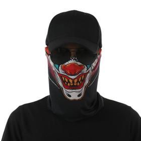Crazy Clown Design Face Mask UV Protective (6 pcs.)
