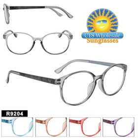 Fashion Style Wholesale Reading Glasses.  This style comes in 5 great colors.
