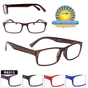 Great square shaped wholesale reading glasses.  This style comes in 5 great colors.