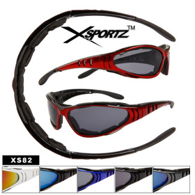 59b787e4d82 Xsportz™ Sports Bulk Sunglasses - Style   XS82 Foam Padded Interior