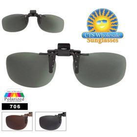 Wholesale Clip On Sunglasses 706