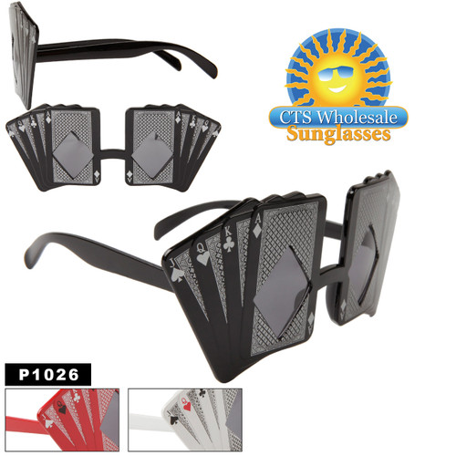 Playing Cards Party Sunglasses