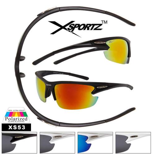 Polarized Xsportz™ Sport Sunglasses XS53