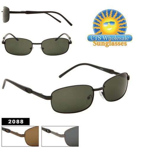 Metal Frame Polarized Lens Sunglasses 2088