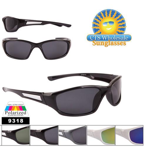 Bulk Polarized Lens Sunglasses - Style #9318