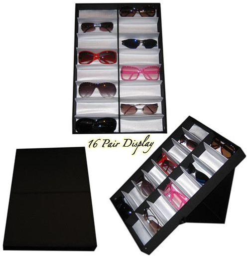 Folding Sunglass Display Case 7034