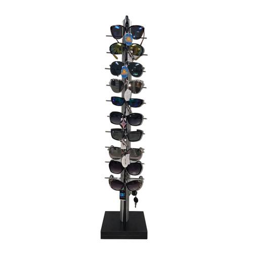 Sunglass Display Rack   Holds 10 Pair
