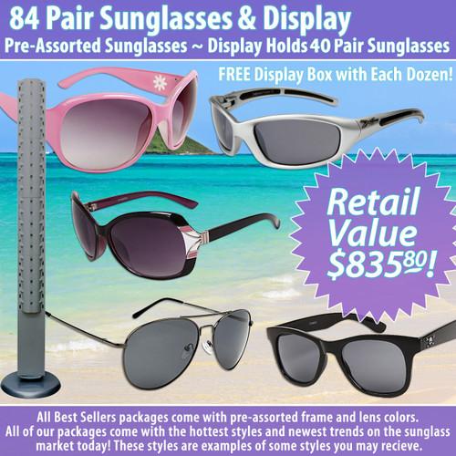 84 Pair Package Deal Floor Model Display