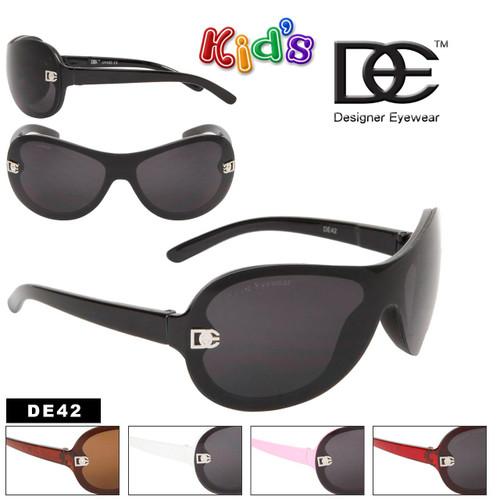 DE42 Kid's Designer Sunglasses