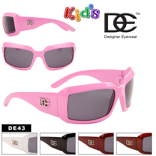 Kid's Designer Sunglasses Wholesale - Style #DE43