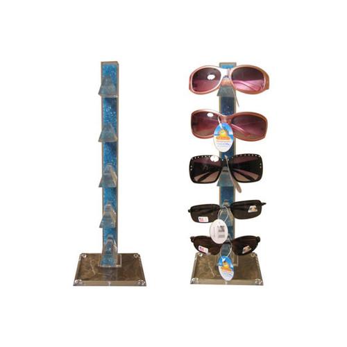 Sunglass Display Rack   Counter Top   Blue Beads