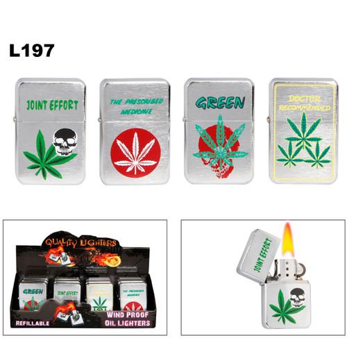 """""""Medicinal Marijuana"""" Lighters L197"""