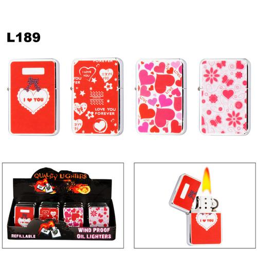 """""""LOVE"""" Wholesale Lighters L189"""