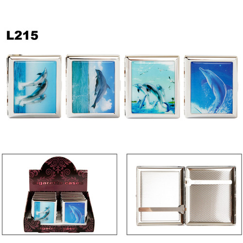Cigarette Cases L215 ~ Assorted Dolphins