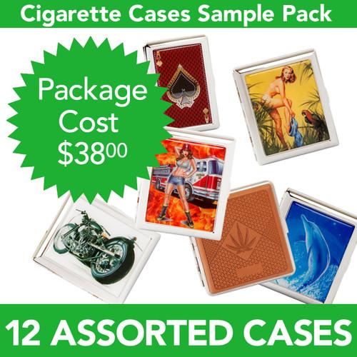 Dozen Assorted Cigarette Cases CSP1