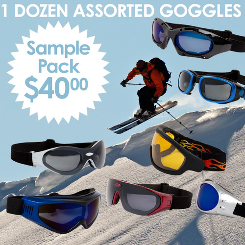 Goggles Sample Pack