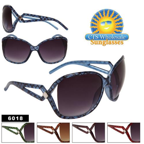 Large Frame Vintage Sunglasses 6018