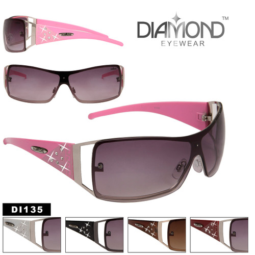 Women's Rhinestone Sunglasses DI135