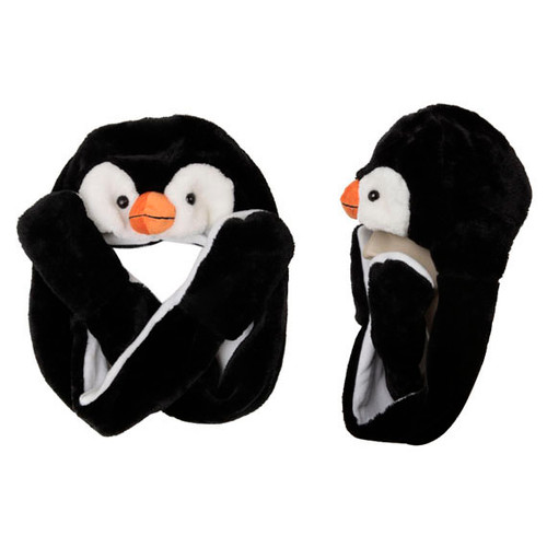 Penguin with Mittens