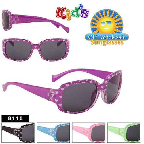 Girls Sunglasses Wholesale by the Dozen - Style #8115K