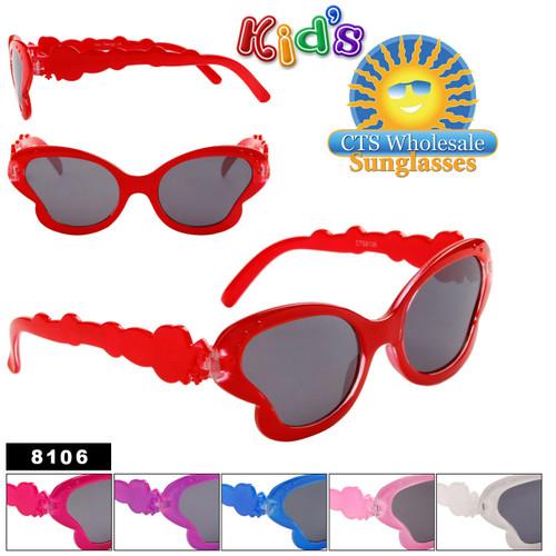 Girl's Fashion Sunglasses 8106