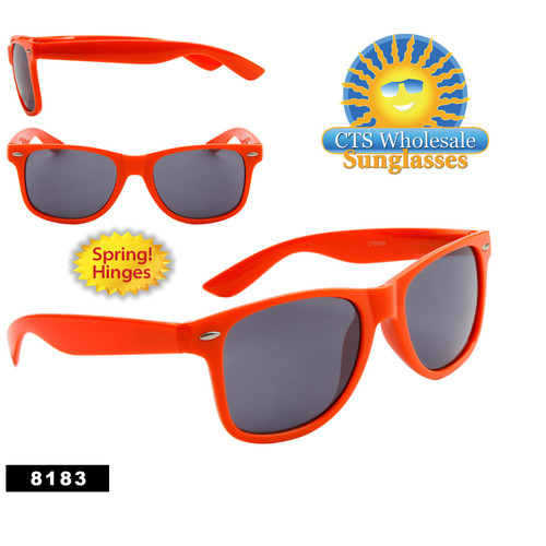 Orange California Classics Sunglasses by the Dozen - Style # 8183